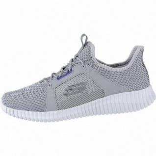 Skechers Elite Flex coole Herren Mesh Sneakers grey, Skechers Air Cooled Memory Foam-Fußbett, 4240170/45