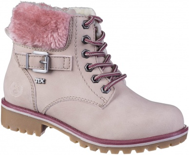 INDIGO Mädchen Winter Synthetik Boots pink, Tex Ausstattung, Warmfutter