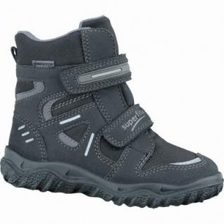 Superfit Jungen Synthetik Gore Tex Boots schwarz, molliges Warmfutter, warmes Fußbett, 3737140