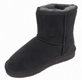 Heitmann Felle Damen Lammfell Leder Winter Boots anthrazit, warme Laufsohle, ... - Vorschau 2