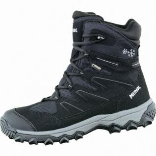 Meindl Calgary GTX Herren Winter Velour Outdoor Stiefel schwarz, 16 cm Schaft, warmes Fußbett, Insulated, 4535109/7.5