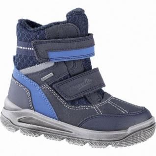 Superfit Jungen Winter Synthetik Tex Boots blau, 10 cm Schaft, Warmfutter, warmes Fußbett, 3741140/34