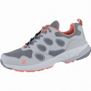 Jack Wolfskin Venture Fly Low W Damen Mesh Outdoor Schuhe coral, atmungsaktives Polyesterfutter, 4438157