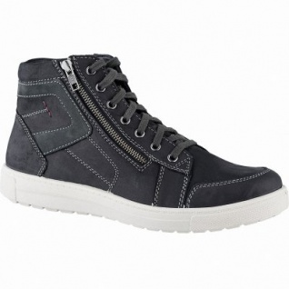 Jomos Herren Leder Winter Boots schwarz, 10 cm Schaft, Warmfutter, warmes Fußbett, 2541164/43