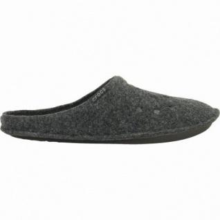 Crocs Classic Slipper Damen, Herren Winter Textil Hausschuhe black, warmes Futter, 1939110/45-46