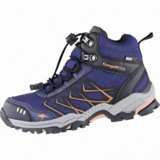 Kangaroos Molas HI Mädchen Synthetik Tex Trekking Boots kblue, Meshfutter, Fußbett, 4439124/28