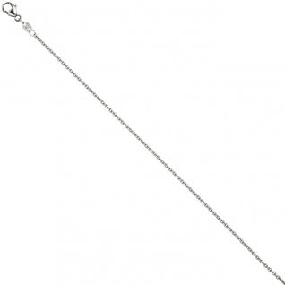 Ankerkette 950 Platin 1, 5 mm 45 cm Halskette Kette Platinkette Karabiner