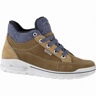 Ricosta Maxim Jungen Tex Sneakers hazel, 9 cm Schaft, mittlere Weite, Warmfutter, warmes Fußbett, 3741265/39
