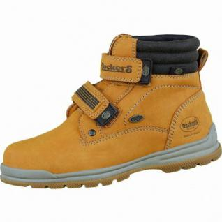 Dockers coole Jungen Synthetik Winter Boots golden tan, Warmfutter, Profilsohle, 3737110
