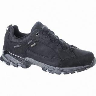 Meindl Toledo GTX Damen, Herren Leder Trekking Schuhe schwarz, Goretex Ausstattung, 4423113/8.0