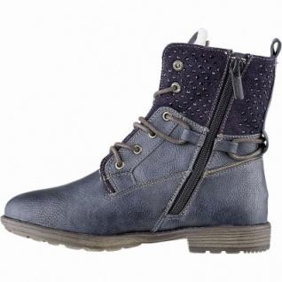 Mustang Mädchen Synthetik Winter Tex Stiefel navy, 15 cm Schaft, Warmfutter, warme Decksohle, 3741169/32 - Vorschau 2