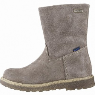 Richter Mädchen Winter Leder Tex Boots almond, mittlere Weite, Warmfutter, warmes Fußbett, 3741227/34