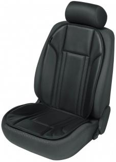 Ravenna Universal Kunstleder Auto Sitzauflage schwarz waschbar, PKW Sitzaufle...