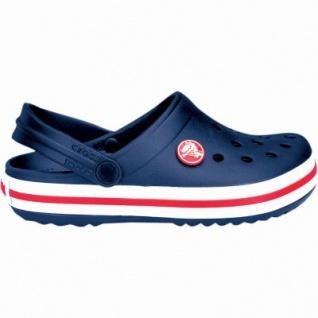 Crocs Crocband Kids Mädchen, Jungen Crocs navy, verstellbarer Fersenriemen, 4338122/24-25