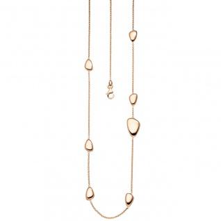 Halskette Kette 585 Gold Rotgold 90 cm Rotgoldkette Karabiner