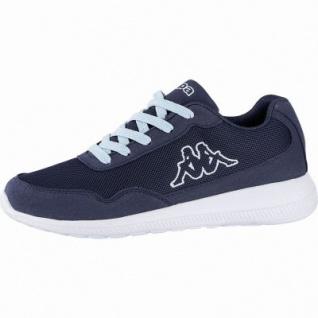 Kappa Follow modische Damen Mesh Synthetik Sneakers navy, herausnehmbares Kappa Fußbett, 4240110