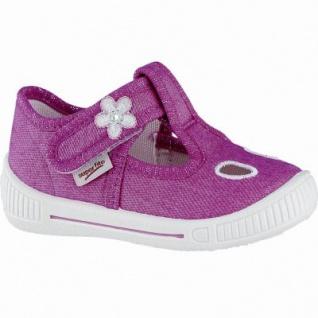 innovative design 59952 ad816 Superfit Mädchen Canvas Lauflern Hausschuhe pink, mittlere Weite, Superfit  Fußbett, 3840103/24