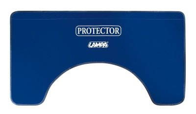 LAMPA PVC Kotflügel Schutz, Kotflügel Schoner, 110x60 cm, Befestigung mit Magneten, perfekt für Werkstätten