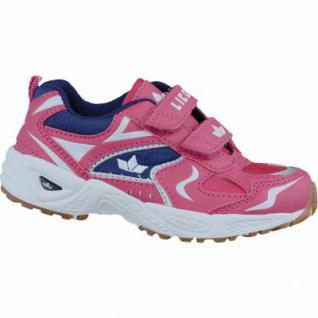 Lico Bob V modische Mädchen Nylon Sportschuhe pink lila, Textilfutter, auswechselbare Textileinlegesohle, 4237111/37