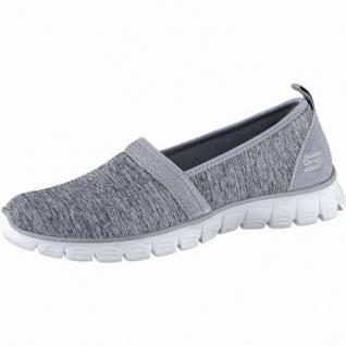 Skechers EZ Flex 3.0 coole Damen Jersey Sneakers grey, Skechers Air-Cooled-Memory-Foam-Fußbett, 4240201
