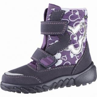 Richter Mädchen Winter Tex Boots aubergine, Warmfutter, warmes Fußbett, mittlere Weite, 3739200