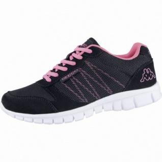 Kappa Stay modische Damen Mesh Synthetik Sneakers blue pink, Kappa Fußbett, 4239113