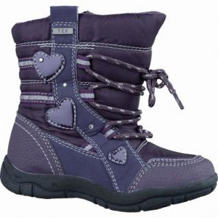 Canadians Mädchen Synthetik Winter Tex Boots purple, Warmfutter, Fußbett, 3237115/25