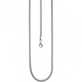 Schlangenkette 925 Sterling Silber 2, 9 mm 50 cm Kette Halskette Silberkette