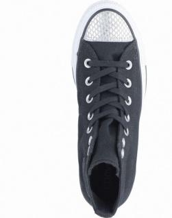 Converse Chuck Taylor All Star-Metallic Toecap-HI coole Damen Canvas Metallic Sneakers black, 4238192/42 - Vorschau 2