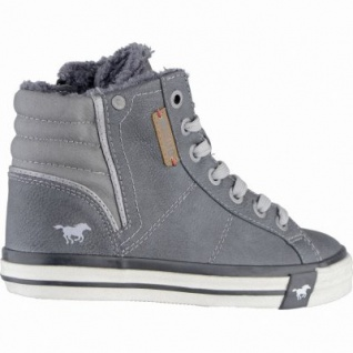 Mustang coole Jungen Synthetik Winter Sneakers graphit, Warmfutter, warme Decksohle, 3739108/37 - Vorschau 2