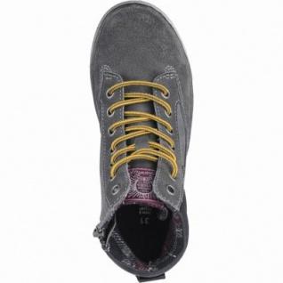 Indigo Jungen Leder Winter Boots grey, Warmfutter, warmes Fußbett, 3739167/34 - Vorschau 2
