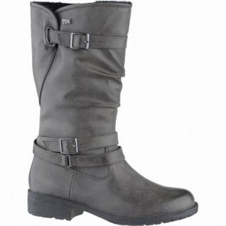 Indigo modische Mädchen Synthetik Winter Tex Stiefel graphite, Warmfutter, warmes Fußbett, 3739162/33