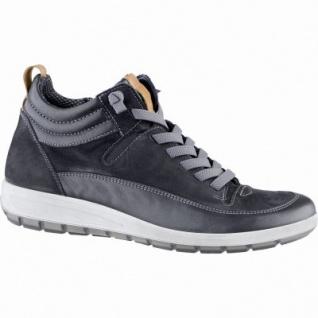 Ara Tokio lässige Damen Leder Sneakers schwarz, Comfort Weite G, Textilfutter, ARA Fußbett, 1339120/8.0
