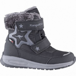 Kangaroos Star Shine RTX Mädchen Winter Synthetik Tex Boots black, leichtes Futter, herausnehmbare Decksohle, 3741251/34