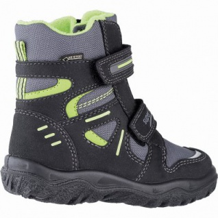 Superfit Jungen Winter Synthetik Tex Boots schwarz, 10 cm Schaft, Warmfutter, warmes Fußbett, 3741139/27 - Vorschau 2