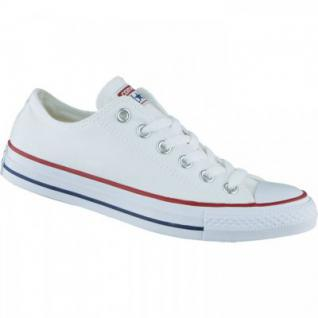 Converse Chuck Taylor All Star Low weiß, Damen, Herren Canvas Chucks, 4234128/42.5