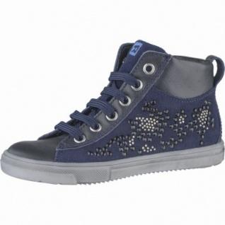 Richter Mädchen Leder Sneakers atlantic, Lederfutter, Leder Fußbett, mittlere Weite, 3339114/32