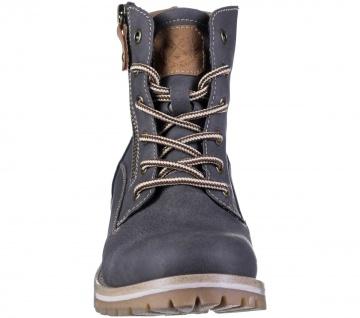 JANE KLAIN Damen Synthetik Boots dark grey, Fleecefutter, weiche Super Soft D... - Vorschau 4
