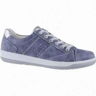 Jenny Sport Miami modische Damen Synthetik Sneakers denim, Fußbett, Weite G, Relax Insole, 1340159