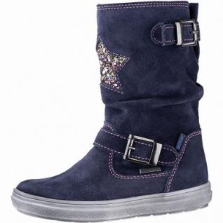 Richter Mädchen Leder Tex Stiefel atlantic, mittlere Weite, angerautes Futter, warmes Fußbett, 3741229/26