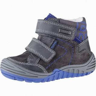 Richter Jungen Leder Sympatex Boots steel, mittlere Weite, molliges Warmfutter, warmes Fußbett, 3241121/22