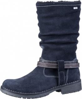 LURCHI Lia Mädchen Winter Leder Stiefel atlantic, mittlere Weite, Tex Austattung