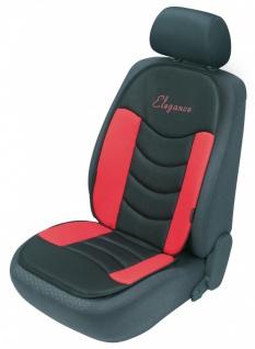 ergonomische Universal Polyester Auto Sitzauflage Gerini rot, hohes Rückentei...
