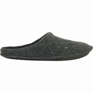 Crocs Classic Slipper Damen, Herren Winter Textil Hausschuhe black, warmes Futter, 1939110/42-43