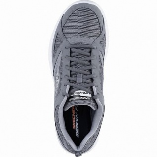 Skechers coole Herren Synthetik / Mesh Sneakers charcoal, Memory Foam-Fußbett, 4242117/39 - Vorschau 2
