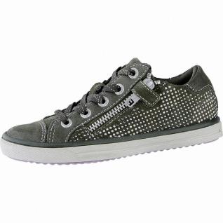Lurchi Shiny modische Mädchen Leder Sneakers olive, mittlere Weite, Lurchi Le...