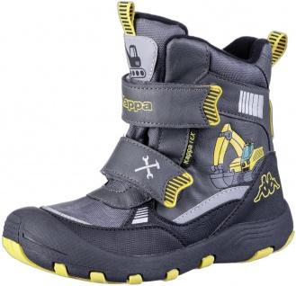 KAPPA Road Tex Jungen Winter Synthetik Boots grey, Fleecefutter, wasserdicht,...