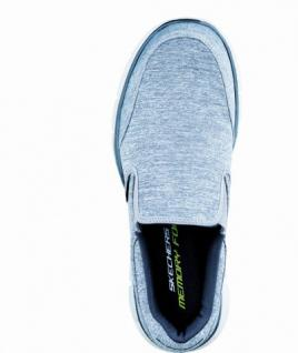 Skechers praktischer Herren Synthetik Slip-on grey black, Skechers Memory-Foam-Fußbett, 4036164/41 - Vorschau 2