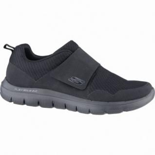 Skechers Flex Advantage 2.0 Gurn coole Herren Mesh Sneakers black, Air-Cooled-Memory-Foam-Fußbett, 4239147