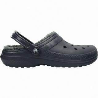 Crocs Classic Lined Clog Damen und Herren Winter Clogs navy, Warmfutter, flexible Laufsohle, 4337112